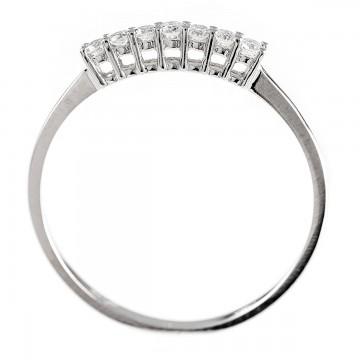 0,14ctw briljantsõrmus, valge kuld prooviga 750