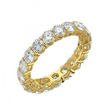 2,69ct eternity briljantsõrmus, kollane kuld prooviga 750