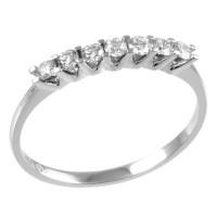 0,32ctw briljantsõrmus, valge kuld prooviga 750