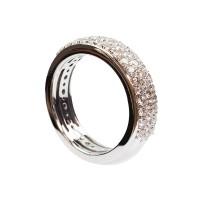 1,03ct briljantsõrmus, valge kuld prooviga 750