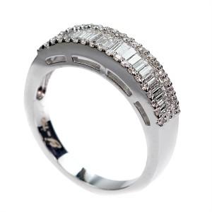0,51ct briljantsõrmus, valge kuld prooviga 750
