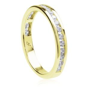 4d9fbe0bc44 0,50ct briljantsõrmus, kollane kuld prooviga 585