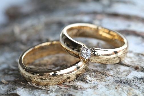 abielusormused kollane kuld